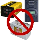 pic no inverter or batteries